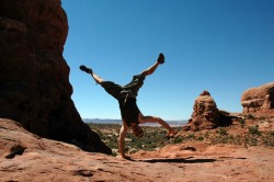 flips at arches